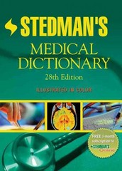 Stedman's Medical Dictionary 28th edition 9780781733908 0781733901