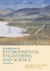Introduction to Environmental Engineering and Science 3rd edition 9780131481930 0131481932