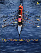 Operations Management 3rd Edition 9780073230580 0073230588