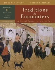 Traditions & Encounters: A Global Perspective on the Past 4th edition 9780073330631 0073330639