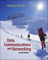 Data Communications and Networking 4th Edition 9780072967753 0072967757
