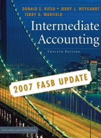Intermediate Accounting, 2007 FASB Update 12th edition 9780470128749 0470128747