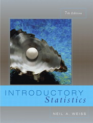 Introductory Statistics 7th edition 9780201771312 0201771314