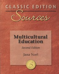 Classic Edition Sources: Multicultural Education 2nd edition 9780073379739 0073379735