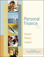 Kapoor ] Personal Finance ] 2007 ] 8 8th edition 9780073106717 0073106712