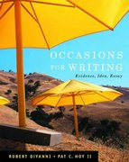 Occasions for Writing 1st edition 9781413012064 141301206X