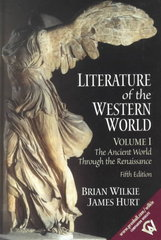 Literature of the Western World, Volume I 5th edition 9780130186669 013018666X