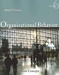 Organizational Behavior 6th edition 9780324322491 0324322496