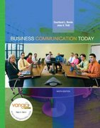 MyBCommLab with Pearson Etext - For Business Communication Today 9th edition 9780131995352 0131995359