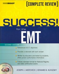 SUCCESS! for the EMT-Basic 2nd Edition 9780132253963 0132253968
