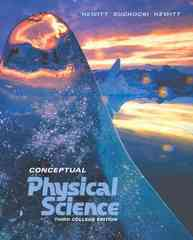 Conceptual Physical Science 3rd edition 9780321051738 0321051734