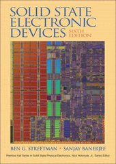 Solid State Electronic Devices 6th Edition 9780131497269 013149726X