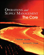 Operations and Supply Management with Student DVD-ROM 1st edition 9780073294735 007329473X