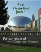 Fundamentals of Corporate Finance Standard Edition + S&P Card + Student CD 7th edition 9780073134284 0073134287