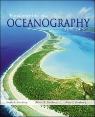 Fundamentals of Oceanography with Olc Password Card 5th edition 9780073040813 0073040819