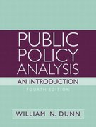 Public Policy Analysis 4th edition 9780136155546 0136155545
