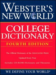 Webster's New World College Dictionary 4th Edition 9780764571251 0764571257