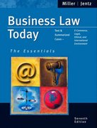 Business Law Today 7th edition 9780324204841 0324204841