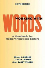 Working with Words 6th edition 9780312442675 031244267X