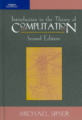Introduction to the Theory of Computation 2nd edition 9781285701080 1285701089