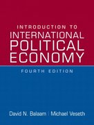 Introduction to International Political Economy 4th edition 9780136155638 0136155634
