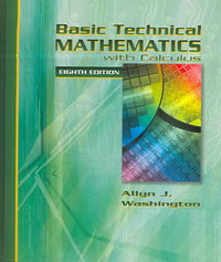 Basic Technical Mathematics with Calculus 8th edition 9780321131942 0321131940