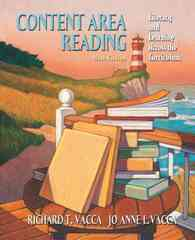 Content Area Reading 9th edition 9780205532155 0205532152