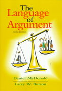 The Language of Argument 9th edition 9780321019370 0321019377