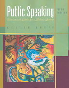 Public Speaking 5th edition 9780495006565 0495006564
