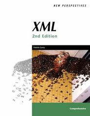 New Perspectives on XML, Second Edition, Comprehensive 2nd edition 9781418860646 1418860646