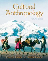 Cultural Anthropology 12th edition 9780132197335 0132197332