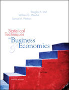 Statistical Techniques in Business and Economics with Student CD-ROM Mandatory Package 12th edition 9780072971217 0072971215