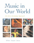 Music in Our World 1st Edition 9780070272125 0070272123