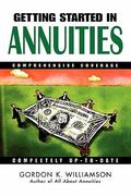 Getting Started in Annuities 1st edition 9780471283034 0471283037