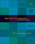 New Venture Creation 6th edition 9780072875706 0072875704