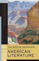 The Norton Anthology of American Literature 7th edition 9780393930573 0393930572