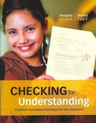 Checking for Understanding 1st edition 9781416605690 141660569X