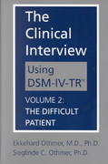 The Clinical Interview Using DSM-IV-TR 0 9781585620531 158562053X
