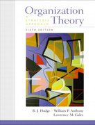 Organization Theory 6th Edition 9780130330642 0130330647
