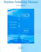 Student Solutions Manual to accompany College Physics 2nd edition 9780073049540 0073049549