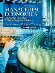 Managerial Economics 5th Edition 9780131860155 0131860151