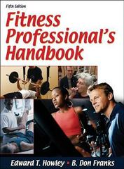 Fitness Professional's Handbook 5th edition 9780736061780 0736061789