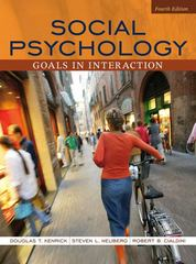 Social Psychology 4th edition 9780205493951 0205493955