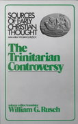 The Trinitarian Controversy 1st Edition 9780800614102 0800614100