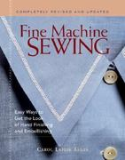 Fine Machine Sewing 2nd edition 9781561585861 1561585866