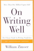 On Writing Well 25th Edition 9780060006648 0060006641