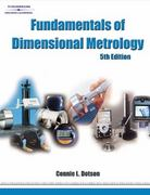 Fundamentals of Dimensional Metrology 5th edition 9781418020620 1418020621