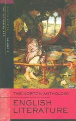 The Norton Anthology of English Literature 8th Edition 9780393927214 0393927210