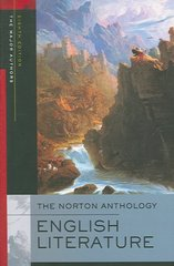 The Norton Anthology of English Literature, The Major Authors 8th edition 9780393928297 0393928292