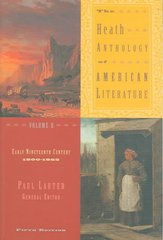 The Heath Anthology of American Literature 5th edition 9780618532988 0618532986